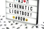 lightbox cinematografica a3